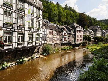 Monschau in de Eifel 5 van Jörg Hausmann