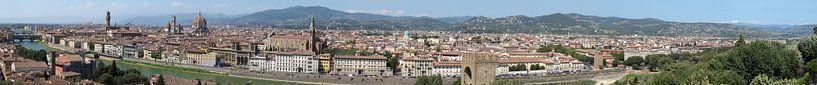 Florence panorama sur Carel van der Lippe
