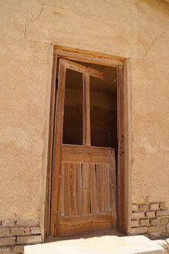 De deur van Erna Haarsma-Hoogterp