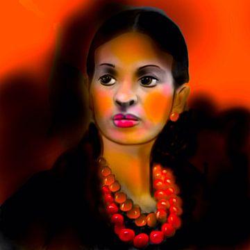 Frida Kahlo von Raina Versluis