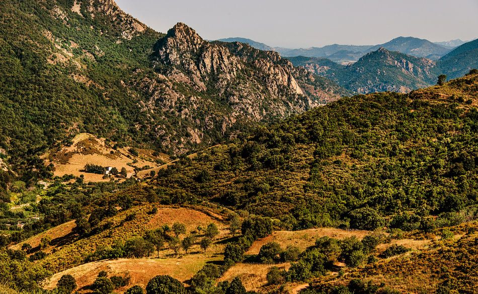 Landschap Sardinië