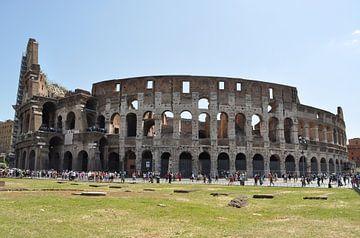 Colosseum, Rome, Italië  van Jeffrey de Ruig