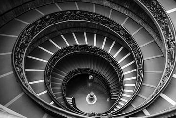 Bramante Staircase von Henri van den Berg