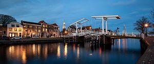 Pont en pierre tombale à Haarlem