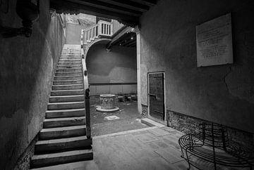 Innenhof in Venetien von Ed Dorrestein