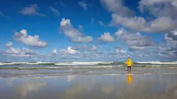 Blick auf die Nordsee vom Strand von Terschelling aus gesehen von Erwin Maassen van den Brink