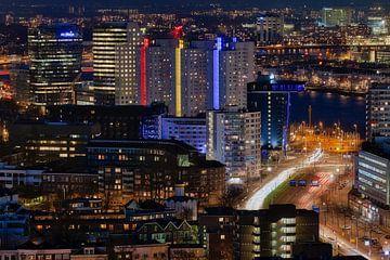 Rotterdam in de drukte von Roy Poots