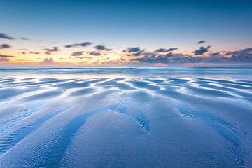 Ebbe am Nordseestrand von Jurjen Veerman