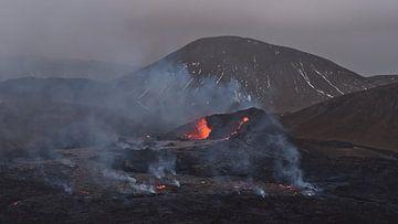 Vulkanausbruch auf Reykjanes von Timon Schneider