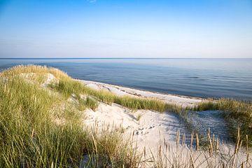 Duinen, strand en zee van Sascha Kilmer