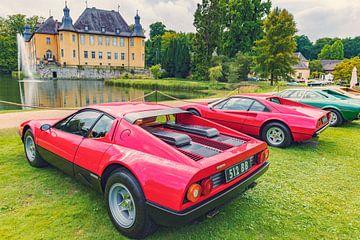 Ferrari 512 BB Berlinetta Boxer en Ferrari 308 GTB van Sjoerd van der Wal