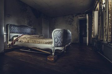 slaapkamer van Christophe Van walleghem