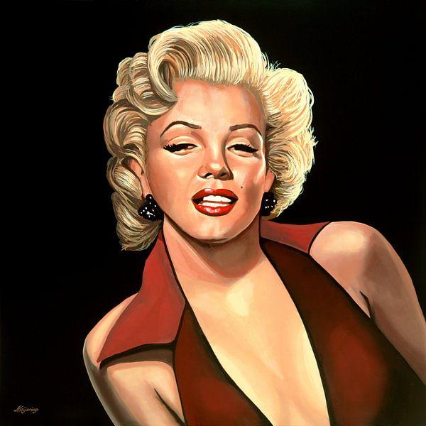 Marilyn Monroe Schilderij 4 van Paul Meijering