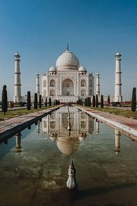 Taj Mahal van Marscha van Druuten