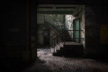 Alte Fabriktreppe von Maikel Brands