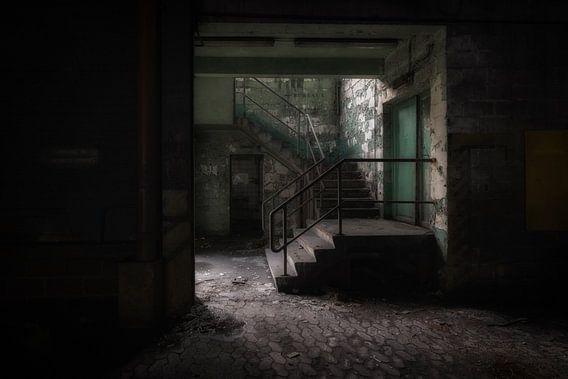 Oude fabriekstrap
