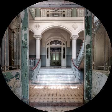 Doorkijk Beelitz-Heilstätten van Bjorn Renskers