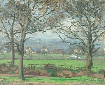 Près de Sydenham Hill, Camille Pissarro sur
