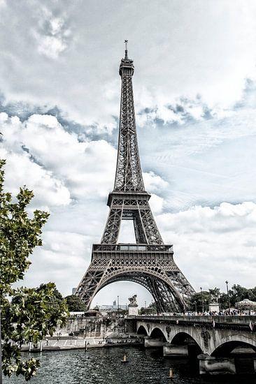 Frankrijk, Parijs, Eiffeltoren 2 van Anouschka Hendriks