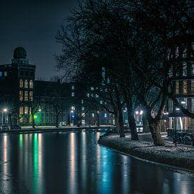 Geodesie gebouw Delft van Henri van Avezaath