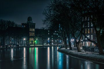 Geodesie gebouw Delft van