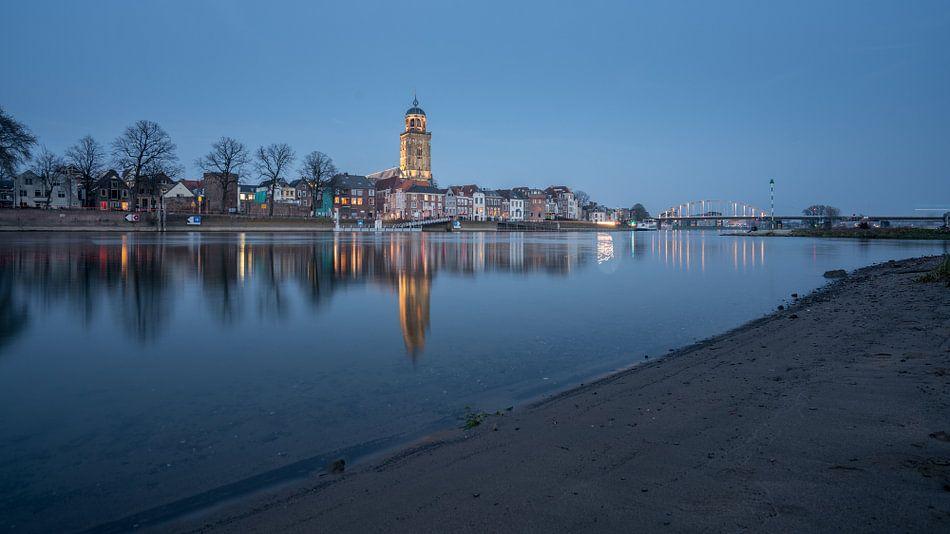 Deventer skyline  van Michel Jansen