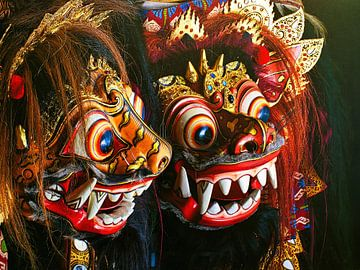 Bali Masks Barong van Eduard Lamping