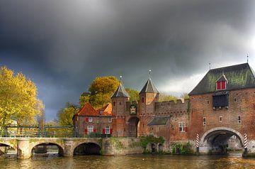 Koppelpoort historisch Amersfoort II van Watze D. de Haan