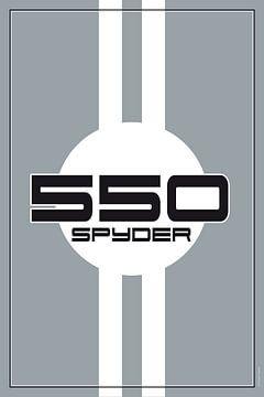 Porsche 550 Spyder, racewagenontwerp van Theodor Decker