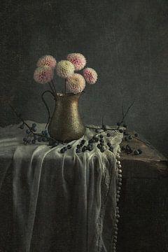 Stilleben mit Blumen von Carolien van Schie