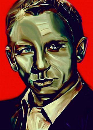 James Bond Pop Art PUR van Felix von Altersheim