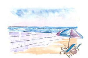 Coopers Beach Southampton NY Hamptons Stil Szene von Markus Bleichner