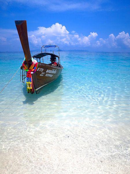 Boot in Thailand van Florian Franke