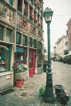Straßenszene von Gent von Eugenlens