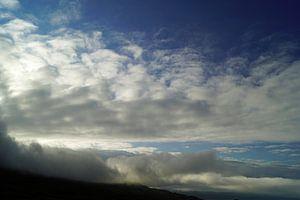 Nuages au-dessus de l'Irlande du Nord.