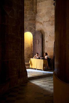 Cathédrale d'Alghero, Sardaigne sur Kees van Dun