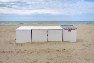Strandcabines van Johan Vanbockryck