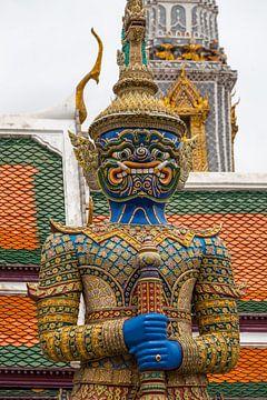 Wachter Grand Palace Bangkok van Jeroen Langeveld, MrLangeveldPhoto