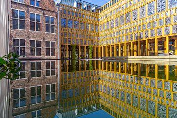Binnenplaats Stadhuis Deventer von Edo Koch