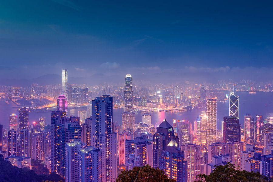 Hong Kong Panorama van Pascal Deckarm