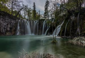 Mali Buk waterval Plitvice van Rien van Bodegom