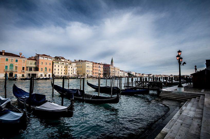 Canal Grande, Venetië van Lex Scholten