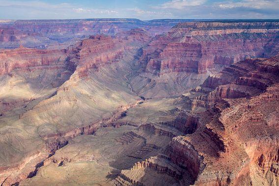 Grand Canyon vauit een een helicoper