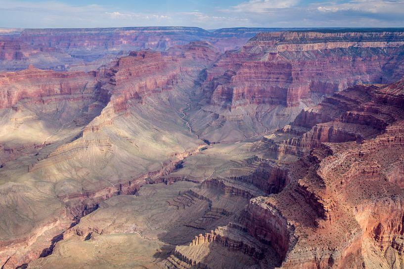 Grand Canyon vauit een een helicoper van Hilda Weges