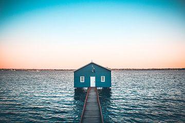Het blauwe boothuis