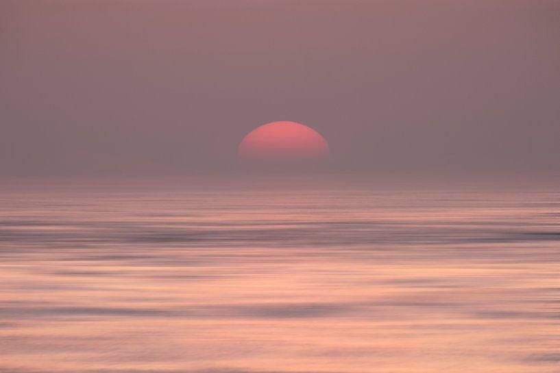 Abstract Sunset van Arjen Roos