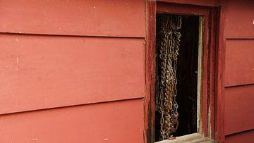 Red Barn Wyoming van Winfried Weel