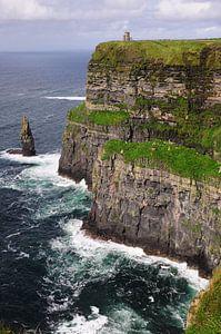 Ierse kust bij Doolin. van