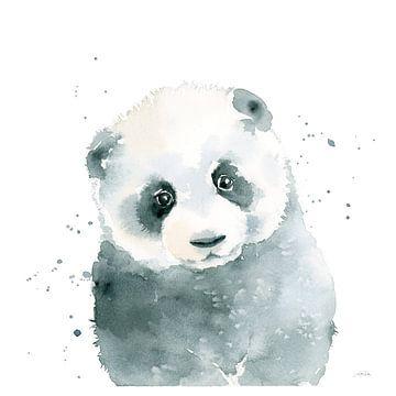 Panda welp, Katrina Pete van Wild Apple