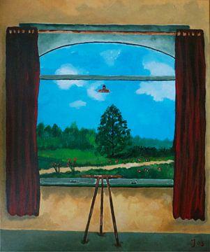 Illusionary Landscape van Jos van Oorschot